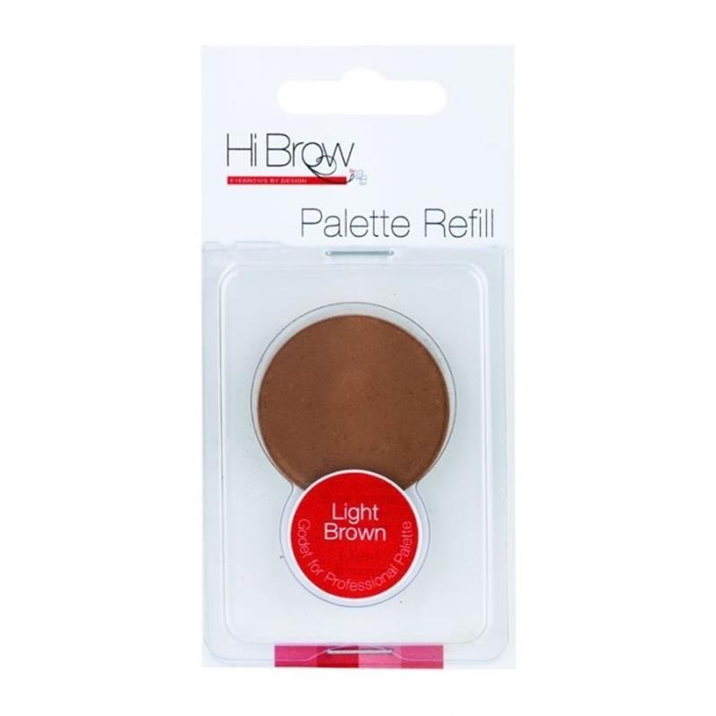 Brow Powder Palette Refill-Light Brown Image 1
