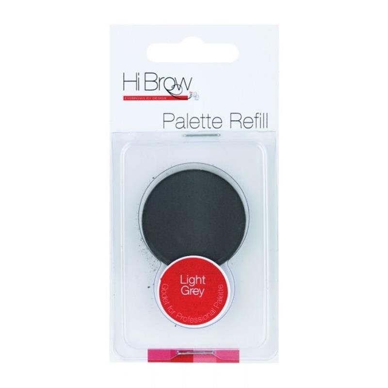Brow Powder Palette Refill-Light Grey Image 1