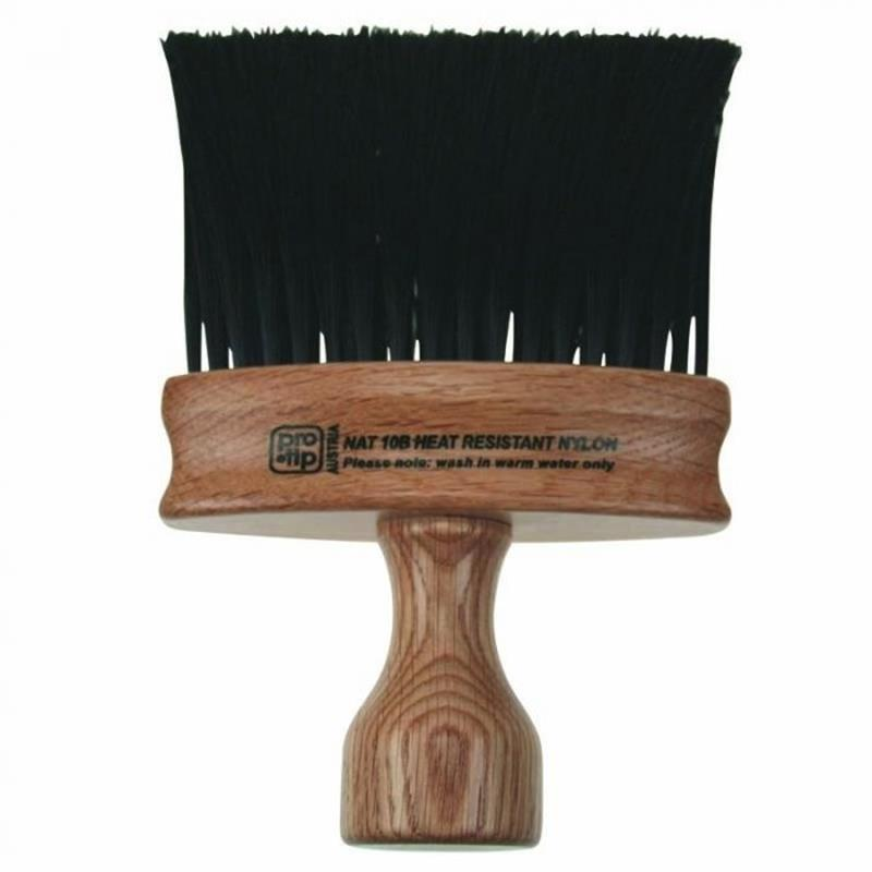 Natural Wood Oval Neck Brush Image 1