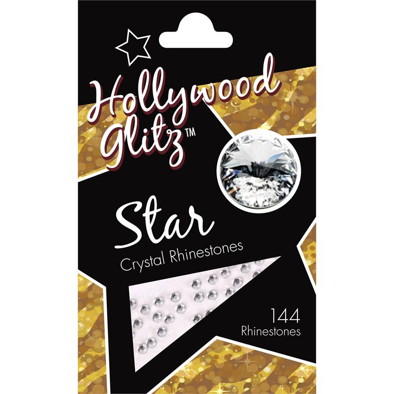 Hollywood Glitz Star Crystal Rhinestones Image 1