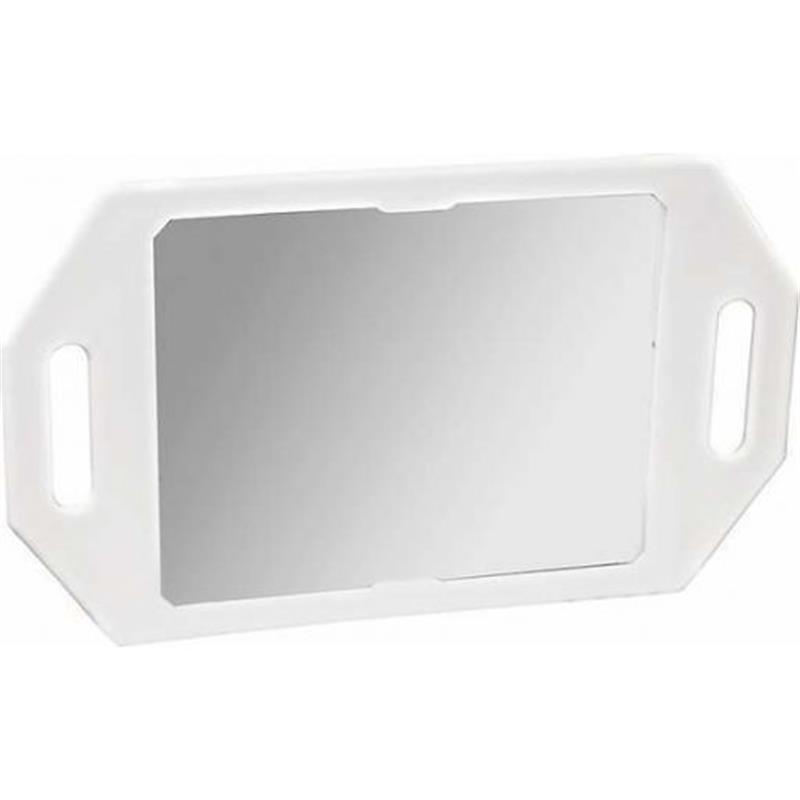 Two Handled White Mirror Image 1