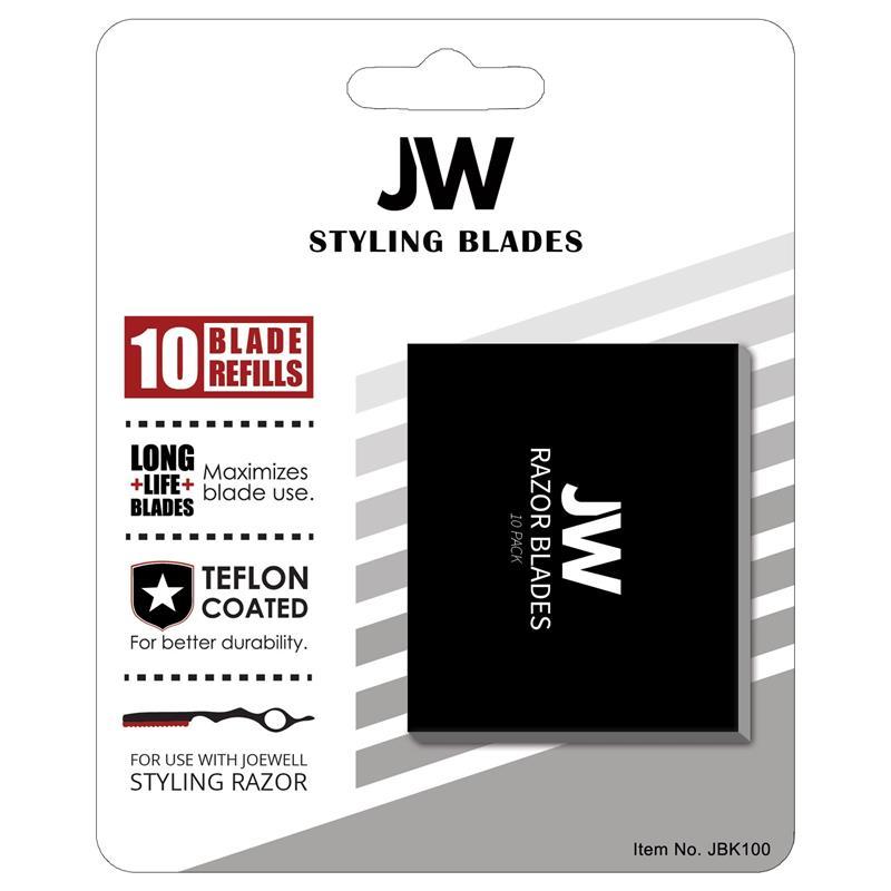 Joewell Black Styling Razor Blades Image 1