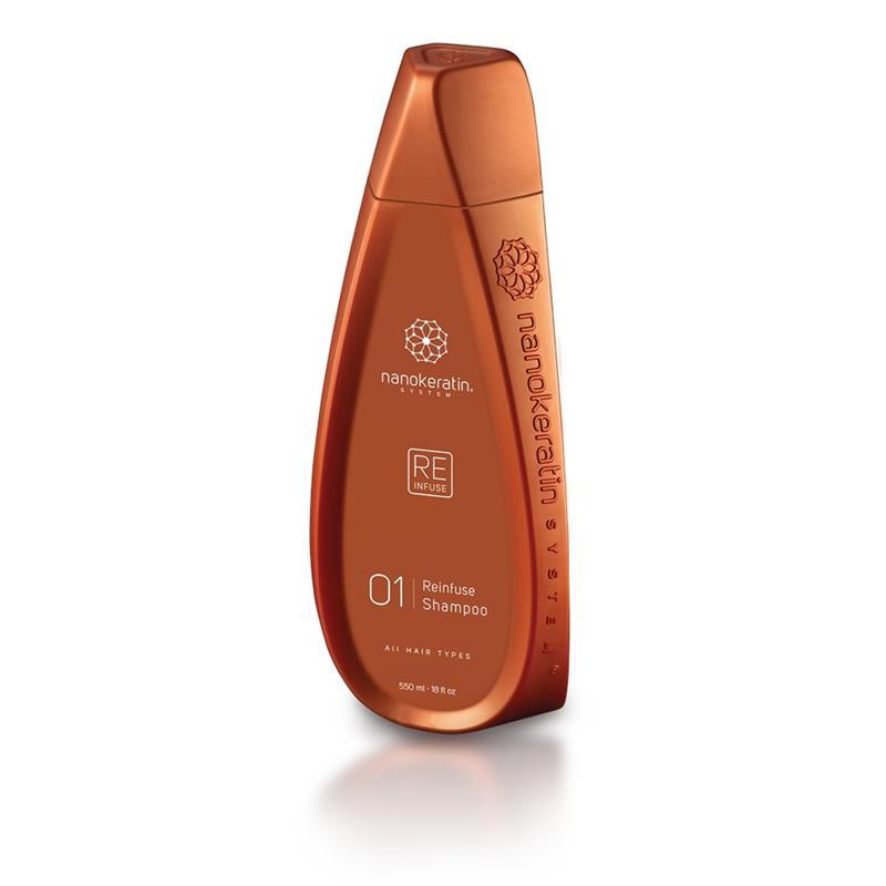 Nanokeratin System Reinfuse Shampoo All Hair Types 320ml Image 1