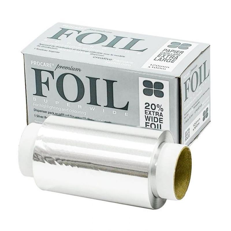 Silver Foil 120mm x 100m Image 1