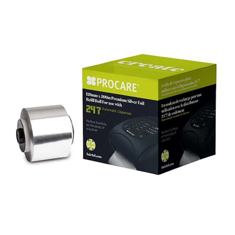 24/7 Refill Silver 120mmx500m  - Wide Image 1