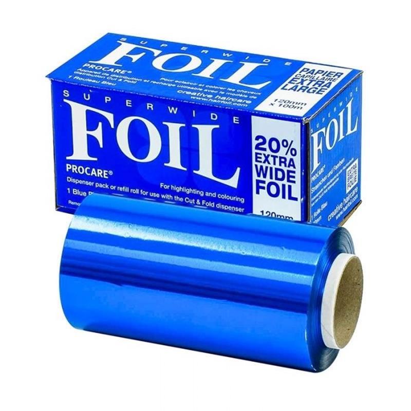 Superwide Blue Foil 100m x 120mm Image 1