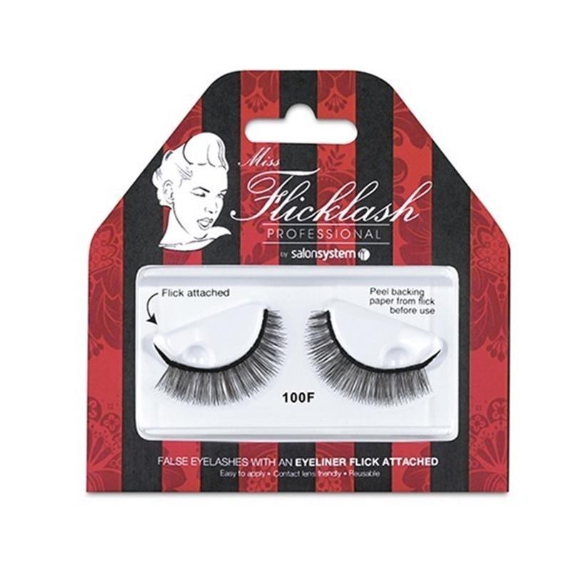 Miss Flicklash Professional 100 Black Lashes Thumbnail Image 0