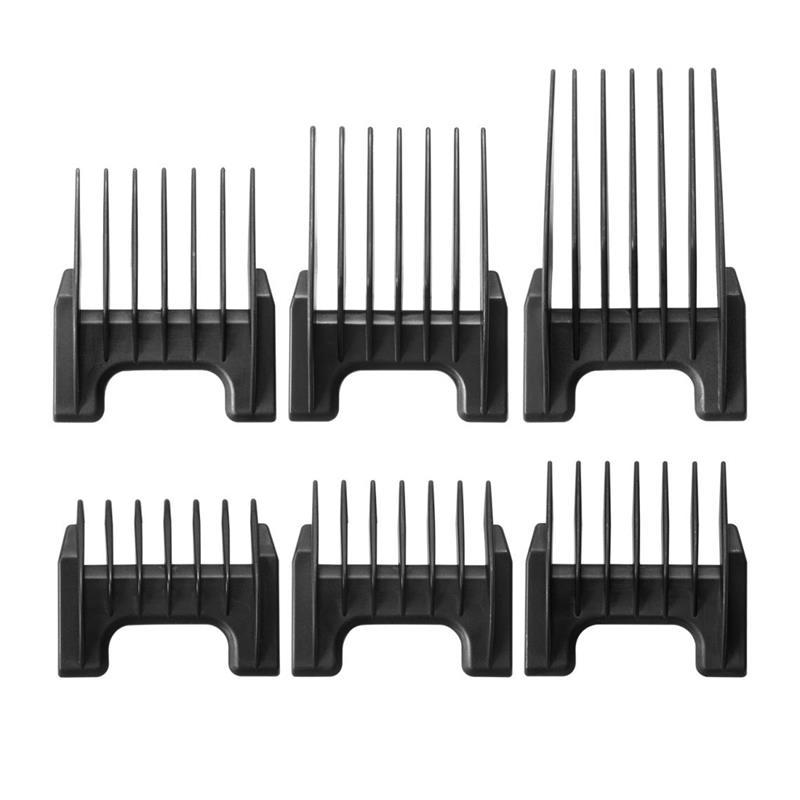 Black Plastic Clipper Attachment Comb Image 1