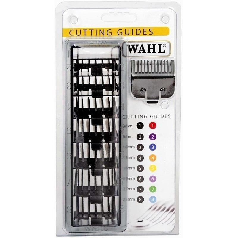 Wahl Black Comb Set No's 1 - 8 Image 1