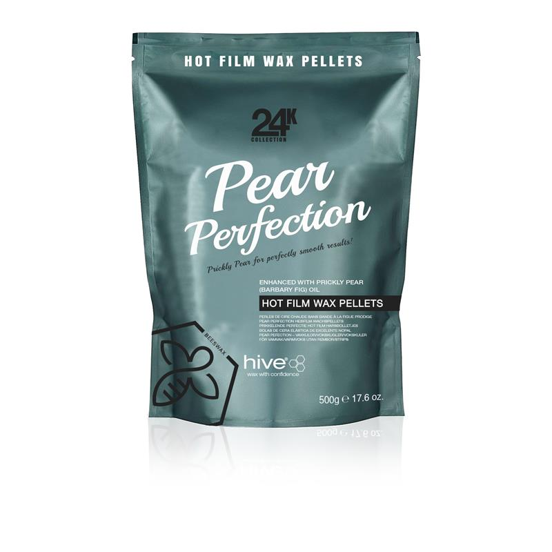 Hive 24k Pear Perfection Hot Film Wax Pellets 500g Thumbnail Image 0