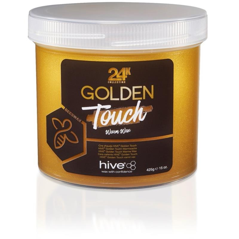 Hive 24k Golden Touch Warm Wax 425g Image 1