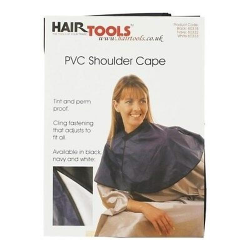 PVC Shoulder Cape - Black Thumbnail Image 0
