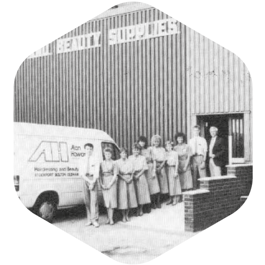 Old photo of our Alan Howard Stockport Store